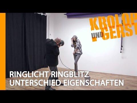 RINGLICHT RINGBLITZ UNTERSCHIED EIGENSCHAFTEN 🏠 STUDIO 🏠 Krolop&Gerst