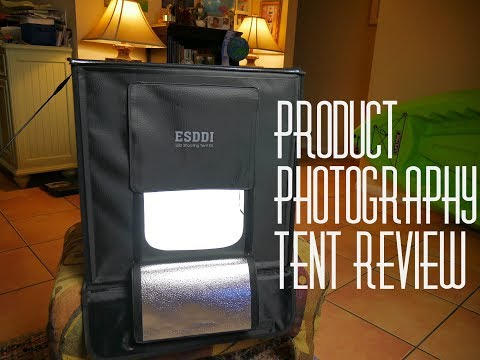 Esddi Product photography Light Box Portable photography studio