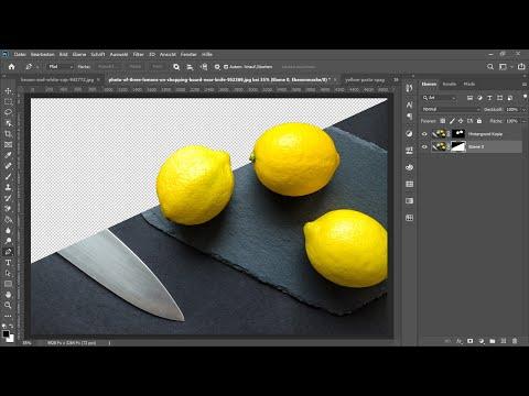 Einfaches Freistellen mit dem Objektauswahlwerkzeug – Photoshop-Tutorial