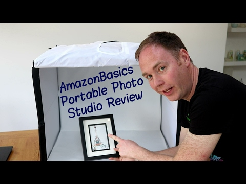 AmazonBasics Portable Photo Studio Review