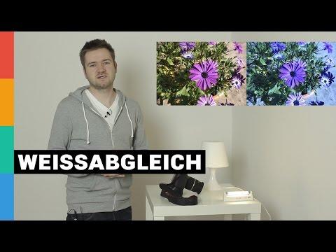 Farbstiche in Bildern vermeiden - Weißabgleich einstellen