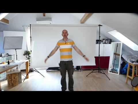 Fotografie Hintergrund System fürs Wohnzimmer Fotostudio