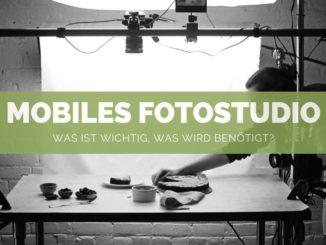 Mobiles Fotostudio Set - FB