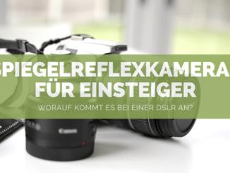 Spiegelreflexkameras für Einsteiger - FB